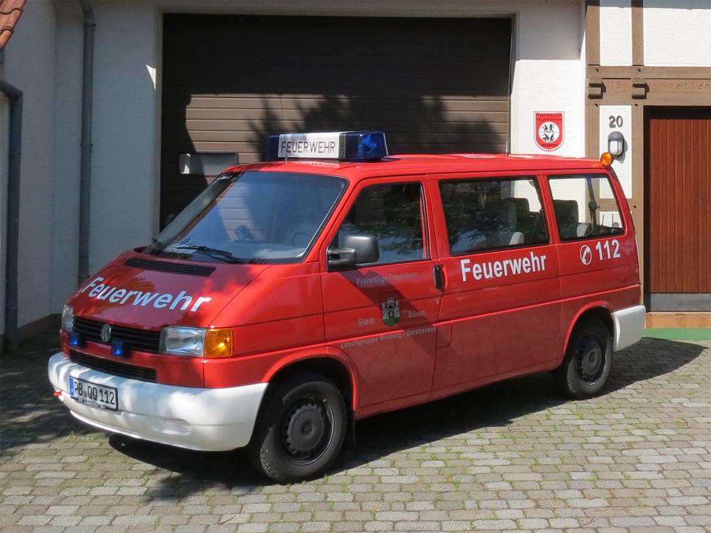Mannschaftstransportwagen MTF - Freiwillige Feuerwehr Büren