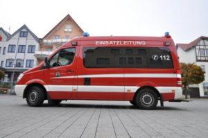 Einsatzleitwagen ELW - Freiwillige Feuerwehr Büren