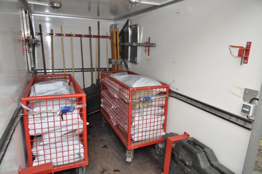 Feuerwehranhänger Ölbeseitigung - Freiwillige Feuerwehr Büren