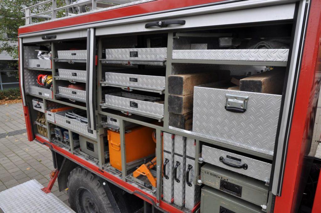 Feuerwehr Büren: Rüstwagen RW 1: Florian Büren 1 – RW 1