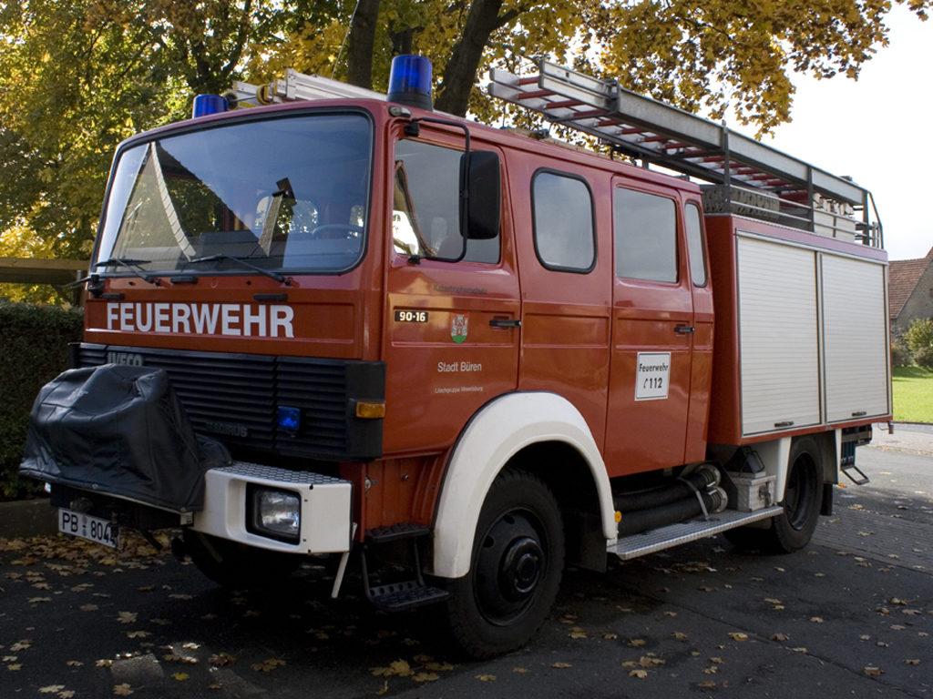 Löschgruppenfahrzeug - Freiwillige Feuerwehr Büren