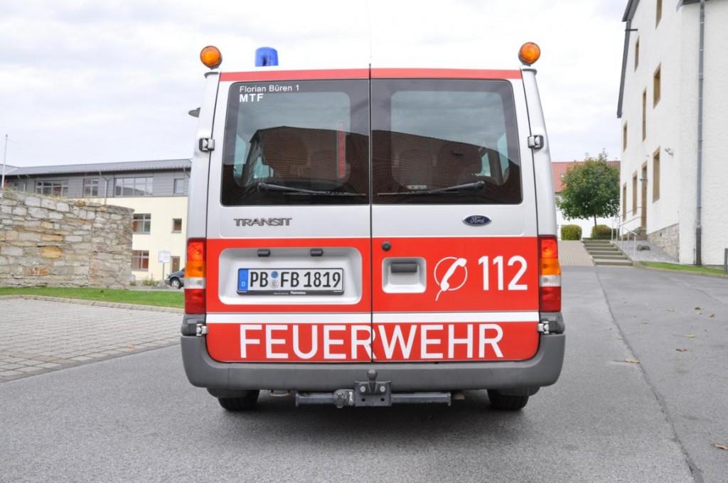 Bueren MTF 5 Feuerwehr Büren