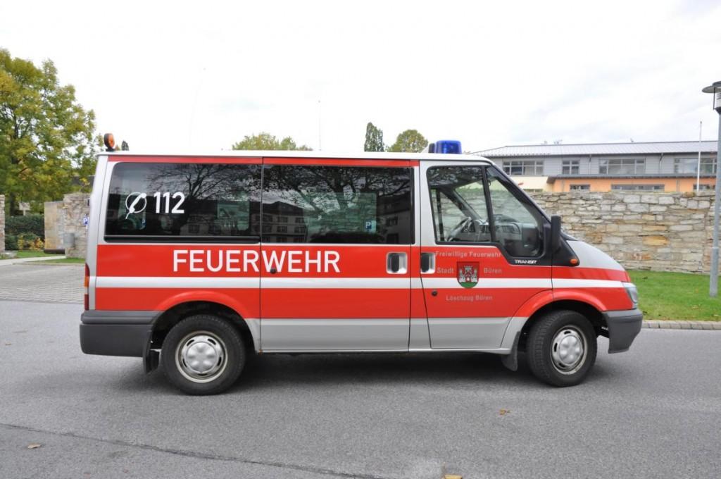 Bueren MTF 4 Feuerwehr Büren