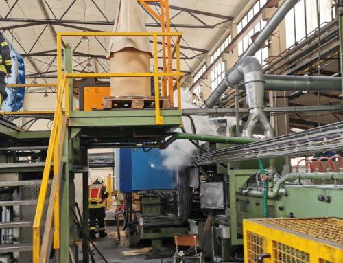 Büren: Brand einer Maschine in Werkshalle