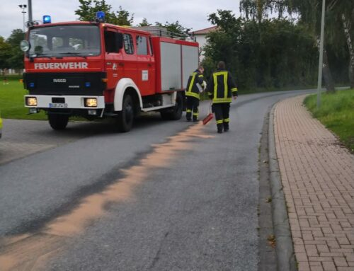 Wewelsburg: Ölspur Holsteiner Straße -> Berghof